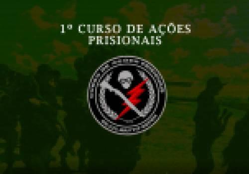 1º CURSO DE AÇÕES PRISIONAIS - Lista de inscritos